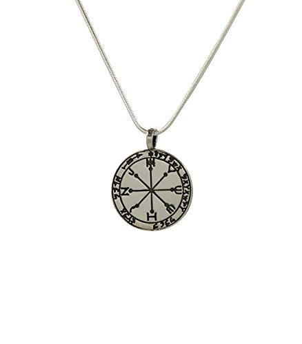 Protection and Safeguard Amulet in 925 Sterling Silver on 19