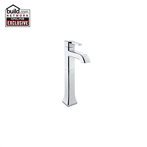 (Pfister GT40-FE0 Park Avenue Vessel Bathroom Faucet with Flex-Line Supply Lines, Polished Chrome)