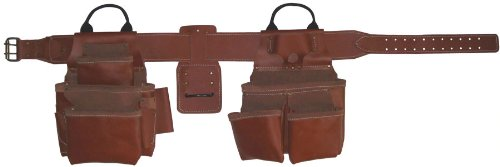 Style n Craft 98434 17 Pocket Top Grain 4 Piece Pro-Framers Combo by Style N Craft