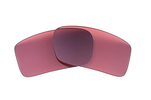 LenzFlip Replacement Lenses Compatible With Oakley Gascan - Rose Polarized