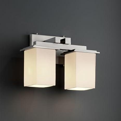 Justice Design Group FSN 8672 Montana 2 Light Bathroom Bar Fixture From The  Fusi,