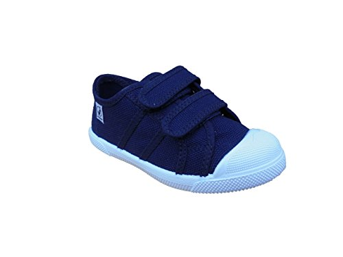 javer , Jungen Sneaker Marineblau