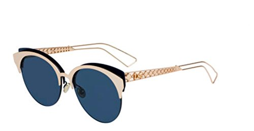 New Christian Dior Diorama Club 02BN Gray Pearl Sunglasses