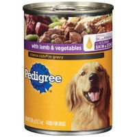 Pedigree Choice Cuts in Gravy with Lamb & Vegetables Dog Foo