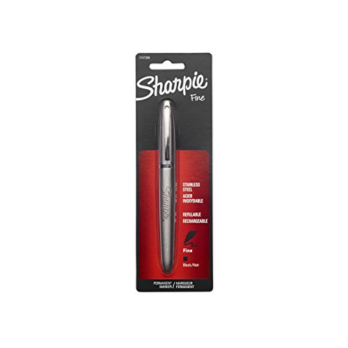 Sharpie 1747388 Stainless Steel Fine Point Permanent Marker by Sharpie