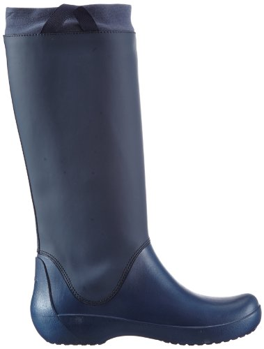 Blu Boot Botas Crocs Negro Color Navy de agua RainFloe Navy 05awxq74