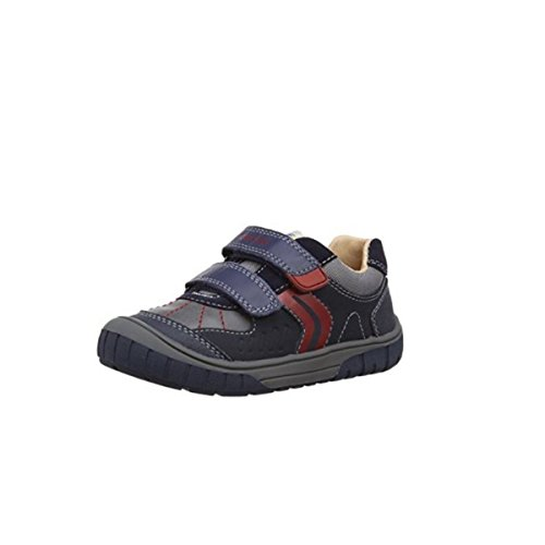 Geox Scarpe c0735 Blu B44d8a Omar Baby 05022 Sneakers B Pelle In ZqwZEvr