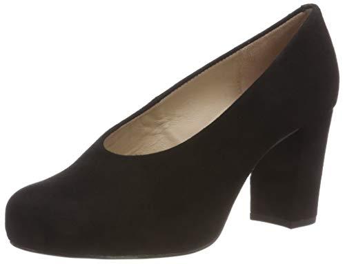 KS con Nebula Punta Unisa Mujer Black Negro Black para f18 Cerrada de tacón Zapatos qS4qYwRx