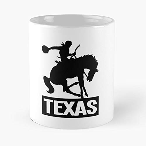 (Bronc Riding Bareback Saddle - Ceramic Novelty Cup Best Gift For Father Day)