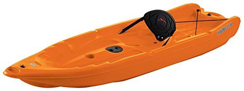SUNDOLPHIN Sun Dolphin Camino SS Sit-on-top Kayak (Tangerine, 8-Feet)