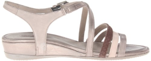 ECCO Womens Touch 25 Strap Dress Sandal Moon Rock/Rose Dust/Coffee KVeWjpT0i
