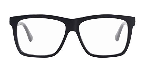 Gucci GG 0268O 001 Black Plastic Square Eyeglasses 55mm