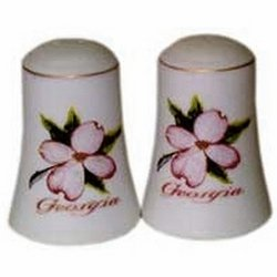 Bisque Bisq (DDI - Georgia Salt and Pepper set Set Dogwood Bisque (Cases of 48 items))
