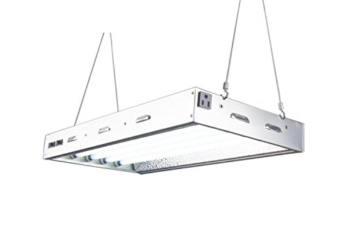 Durolux - 2 FT 4 Bulbs - T5 HO Indoor Grow Light - DL8024 Fluorescent Fixture Veg by DuroLux