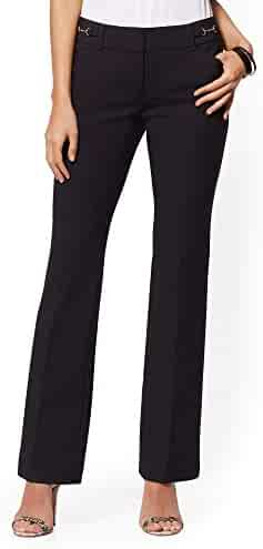 f98ffe3e0d42a9 New York & Co. Tall Horsebit-Accent Bootcut Pant All-Season Stretch -