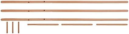 no Necesita un Tornillo Decoraci/ón Escandinava 175cm anaan 9 Dise/ño Perchero de pie Madera Maciza Moderno Tipo /Árbol Colgador para Ropa Gorros Bolsas 9 Ganchos Estable