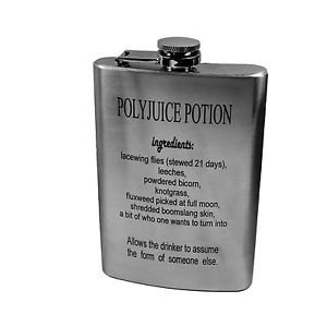8oz polyjuice potion flask great gift for harry potter fans l1