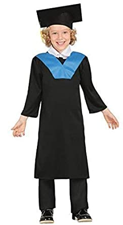 5c89a1c8cbb Boys Graduation Gown Scholar Robes School Boy University Student Book Day Fancy  Dress Costume Outfit (
