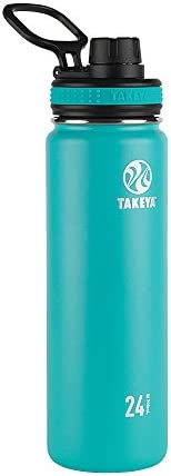 Takeya Garrafa de água de aço inoxidável isolada a vácuo Ocean Originals, 700 ml