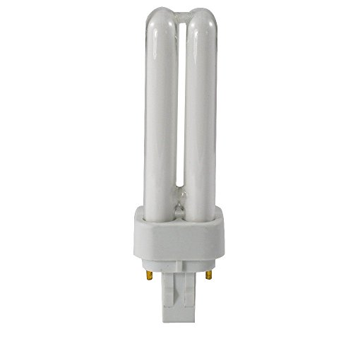 Bulb Two 1 (GE 20532 - F13DBXT4/SPX41 - 13 Watt CFL Light Bulb - Compact Fluorescent - 2 Pin G24d-1 Base - 4100K -)