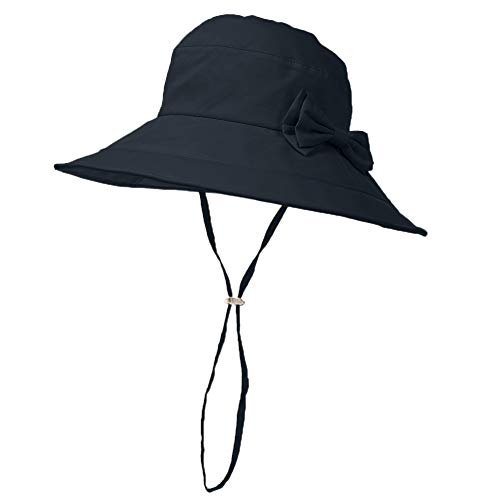 d41e646a593 Siggi Womens Summer Bucket Boonie UPF 50+ Wide Brim Sun Hat Cord Cap Beach  Accessories