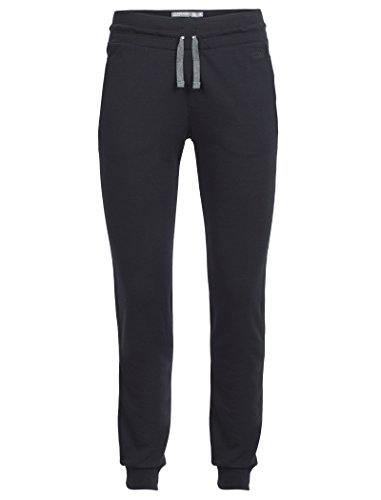Icebreaker Merino Women's Crush Pants , Black/Charcoal, Large