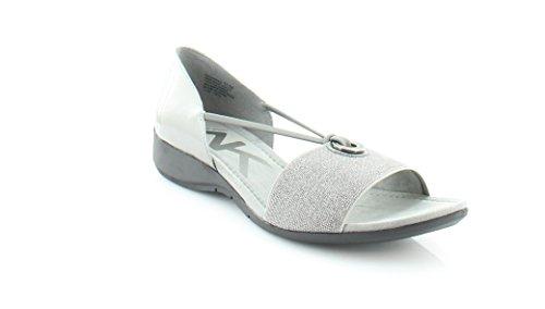 Anne Klein Sport Kameko vestido sandalias de la mujer Pewter/Pewter Synthetic