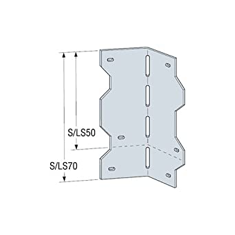 Simpson Strong Tie LIGHT GAUGE STEEL REINFORCING ANGLE (100 Each ...