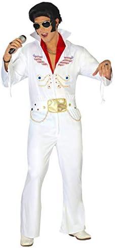 FIESTAS GUIRCA Disfraz Hombre Rey del Rock Extra Talla l: Amazon ...