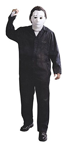 Michael Myers Clown Costumes (GTH Men's Deluxe Movie Characters Michael Myers With Mask Costume, XXL (54-56))