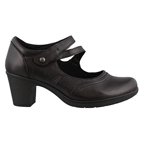 Bristol Pump - Earth Origins Women's, Bristol Mid Heel Pumps Black 11 M
