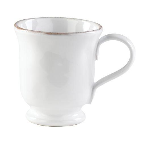 Vietri Bianco Footed Mug