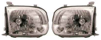 Toyota Tundra 05 06 Sequoia Sr5 Limited Double Extended Crew Cab Headlight R + L