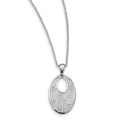 925 Sterling Silver Filigree Chain Necklace Pendant Charm Fancy Fine Jewelry Gifts For Women For Her