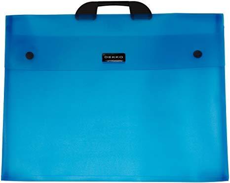 Dekko A3 Electric Blue File, 17 by 22-Inch