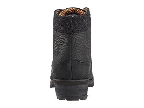 Zapatos B Negro Hombre 6 De Tobillo Face Mediano North Para The Eq1Z88