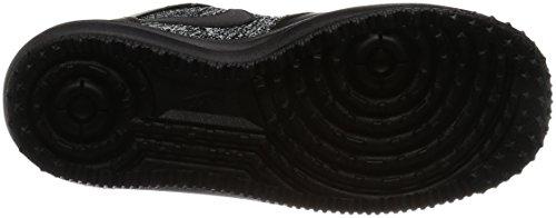Nike Donna Lf1 Flyknit Workboot Scarpe Da Ginnastica Alte Scarpe Da Ginnastica 860558 Sneakers Nero / Nero-bianco-cool Grigio