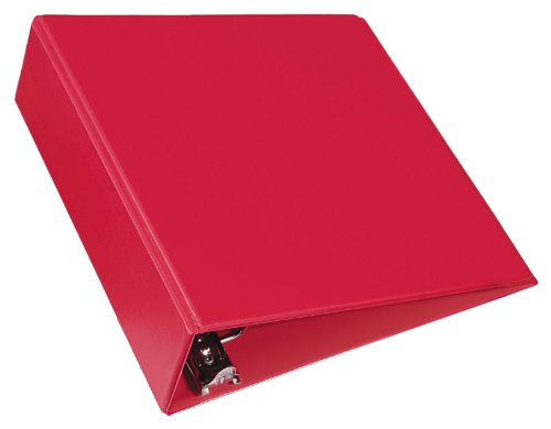 Avery 27204 Durable Binder with Slant Rings, 11 x 8 1/2, 3'', Red by Avery (Image #1)