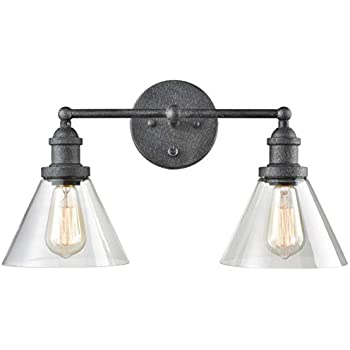 CLAXY Double Light Plug-in Wall Sconce Lighting with On