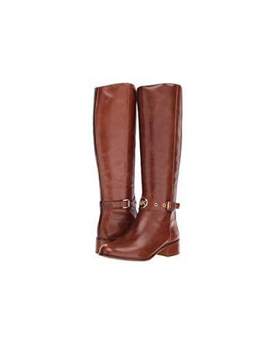 Michael Michael Kors Womens Heather Leather Closed Toe, Dark Caramel, Size 8.0 (Kostenloser Versand Michael Kors)