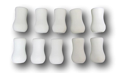 10 Pack Ivory Plastic Tassel Drops Pull End For Blind Cords Home Garden Decor Window