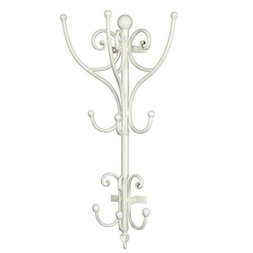 Garderobe Halbrund weiß 70cm
