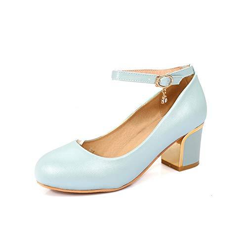 36 Femme Bleu Compensées BalaMasa Sandales Bleu APL10492 EU 5 YvxUqwt
