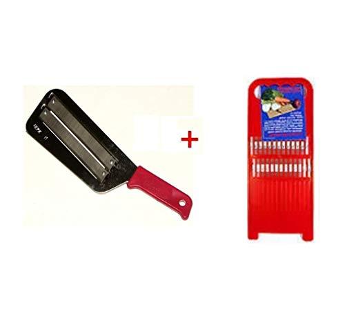 Kitchen Knife Slicer Cabbage Chopper Shredder +gift PLASTIC KOREAN CARROT GRATER