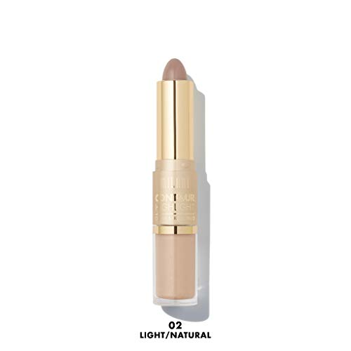 Milani Contour & Highlight Cream & Liquid Duo (Light/Natural) (Best Contour And Highlight Products)