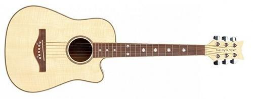 Daisy Rock Wildwood Short Scale Acoustic Guitar, Bleach Blonde ()
