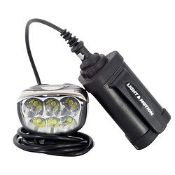 Light and Motion Seca 1700 Lumens Race Bike Light-Pack of 3 Cell