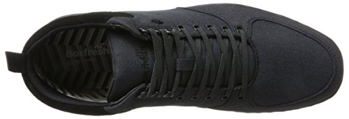 Boxfresh Men's Eplett High-Top Trainers Schwarz (Schwarz) amazon sale online cheap buy authentic 80rmlcoyz