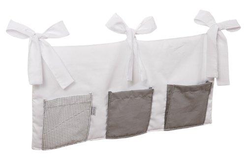 Christiane Wegner 0341 00-547 Felix - Organizador con bolsillos y lazos para sujeción (60 x 30 cm), color gris