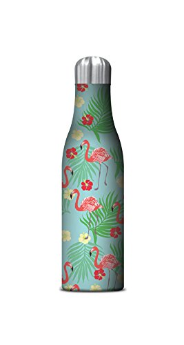 Studio Oh! Insulated Stainless Steel Water Bottle, Flamin...